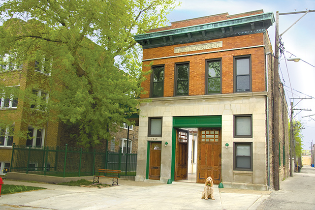 My 110-year-old Chicago firehouse.