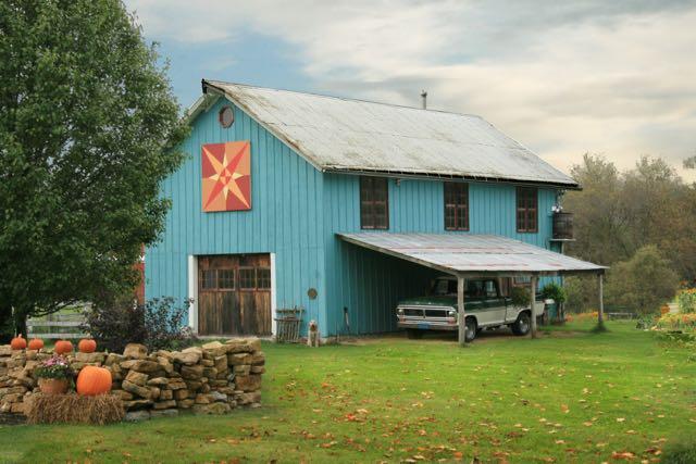 The barn on my 134-year-old Wisconsin farm.